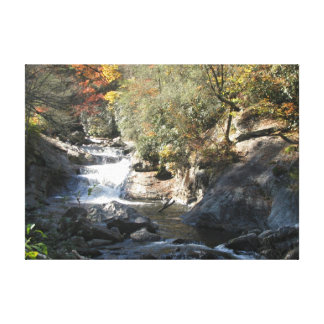 A Crisp Fall Day In The Highlands Canvas Print