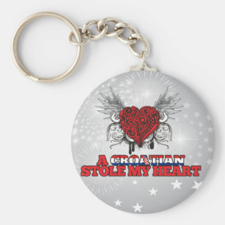 A Croatian Stole my Heart Keychain