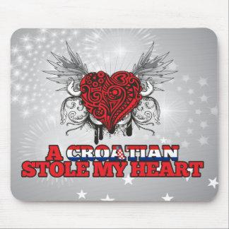 A Croatian Stole my Heart Mouse Pad