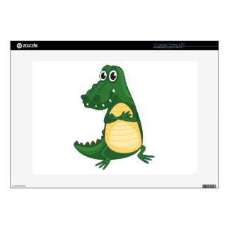 a crocodile decals for laptops