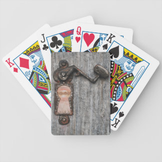 A Crooked Little View by Fine Artist Alison Galvan Poker Cards