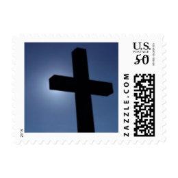 A cross postage