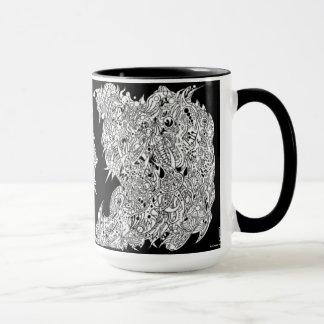 'A Cross-section of a Whimsical thought II' (NEG) Mug