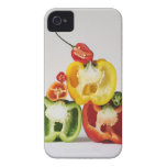 A cross-section of peppers Case-Mate iPhone 4 case