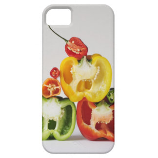 A cross-section of peppers iPhone SE/5/5s case