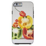 A cross-section of peppers tough iPhone 6 case