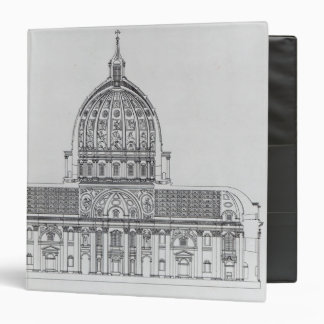 A cross-section of St. Peter's, Rome Binder