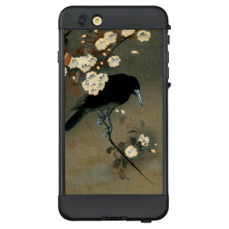 A Crow and Blossom by Ohara Koson Vintage LifeProof NÜÜD iPhone 6 Plus Case
