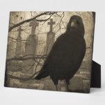 A Crow In The Necropolis Plaque
