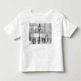 A Crowd Admires a Pneumatic Clock Toddler T-shirt