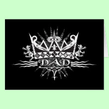A Crown for Dad Card