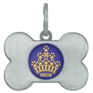 A Crown for Dogs Pet ID Tag