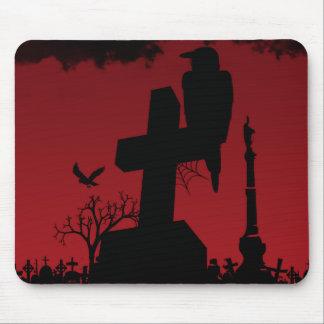 a Crow's Graveyard Mouse Pad