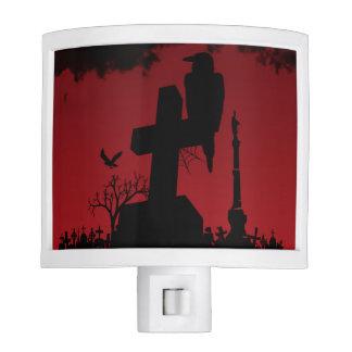 a Crow's Graveyard Night Light