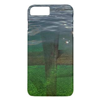 A Crucifix Immersed In Water iPhone 7 Plus Case