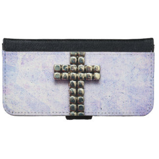 A Crucifix Wallet Phone Case For iPhone 6/6s