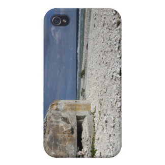 A crumbling bunker iPhone 4 case