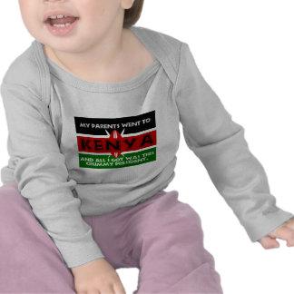 A Crummy Souvenir of Kenya Tee Shirts