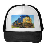 A CSX Train Trucker Hat