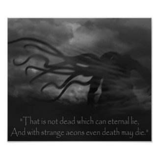 A Cthulhu in the Wind Photo Print