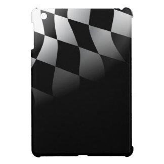 A cuadros se descolora caso del iPad de la bandera iPad Mini Coberturas