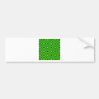 A cuadros - verde claro y Británicos que compiten  Pegatina Para Auto