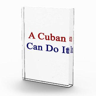 A Cuban Can Do It Award