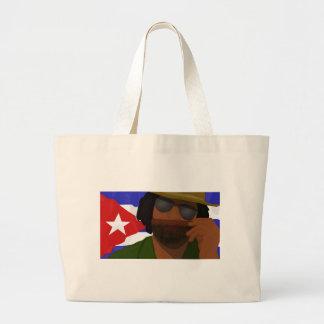A Cuban lifestyle Large Tote Bag