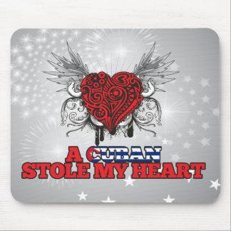 A Cuban Stole my Heart Mouse Pad