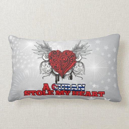 A Cuban Stole my Heart Pillows