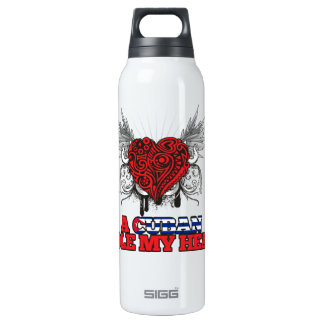 A Cuban Stole my Heart Thermos Water Bottle