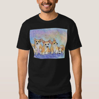 A cuddle of corgis t-shirt