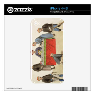 A Culprit before a Magistrate, plate 1 from 'The P iPhone 4 Skins