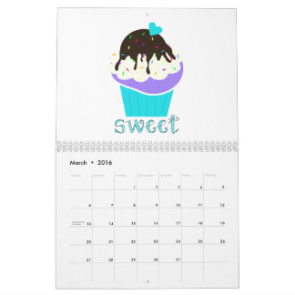 A Cup Full of Sweetness Calendar