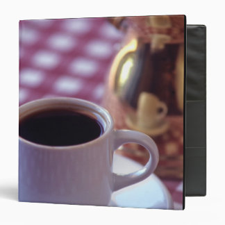 A cup of Arabic Coffee. Syria. The Middle Vinyl Binders