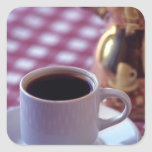 A cup of Arabic Coffee. Syria. The Middle Square Sticker