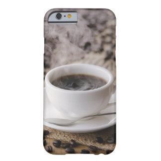 A cup of coffee barely there iPhone 6 case
