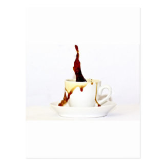 A cup of coffee postcard