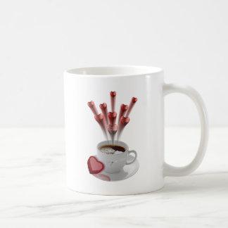A Cup Of Hot Love Coffee Mug
