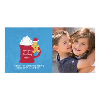 A Cup of Merry Christmas Photo Card