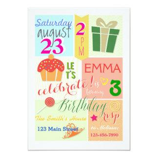 A Cupcake, a Crown, and a Princess Birthday Invite