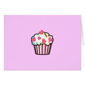 A Cupcake Love card