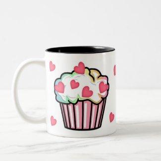 A Cupcake Love mug