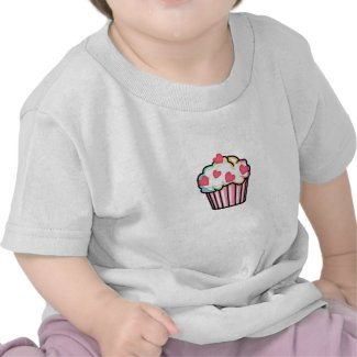 A Cupcake Love baby shirt