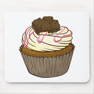 a cupcake mouse pad