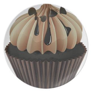 a cupcake plate