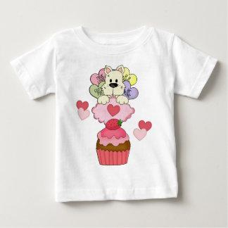 A Cupcake Puppy Valentines T-shirt