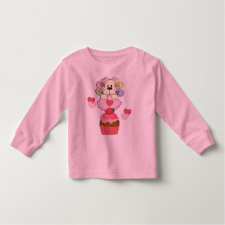 A Cupcake Puppy Valentines Toddler T-shirt