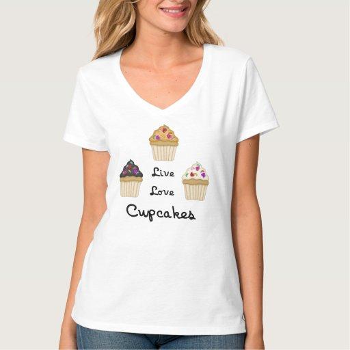A Cupcakes Live Love Tees