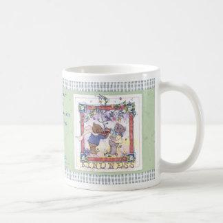 A Cupful of Kindness Classic White Coffee Mug